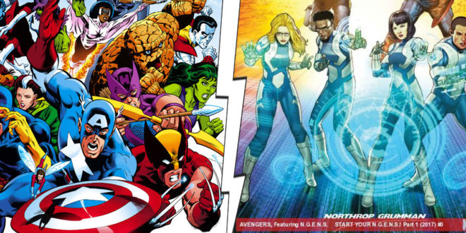 Marvel Team Ups: Toys, Charities…and Greed-Monger Death Dealers